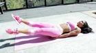 Rosa Acosta Shows Off Ab/Leg Combo Exercises