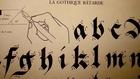 Calligraphie par Claude Mediavilla