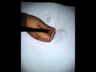 Finn y jake dibujados por ivan benjamin