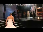 Jennifer Lawrence Falls on Steps as She Wins Best Actress Oscar
