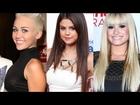 ¡Miley Cyrus vs Selena Gómez vs Demi Lovato Moda!