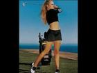 Sexy Golf Anna Rawson, Natalie Gulbis, Grace Park, Sandolo