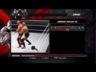 WWE 13 Creations Special Finisher How To Make Waist Lock Backward Roll Into German Suplex