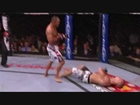 Dan henderson knocks out bisping... + slowmow flying elbow to the face