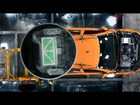 Volvo Cars crash test of electric cars