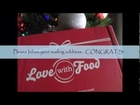 Love With Food - Dec Box - Winner Announced