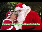 Animated Christmas Karaoke - I saw my Mommy Mummy kissing Santa Claus