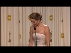 Jennifer Lawrence wins best actress Oscars 20132