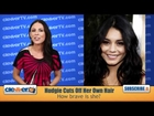 Vanessa Hudgens Talks Cutting Her Hair