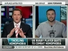 MSNBC - Ben Cohen Quits Rugby To Combat Homophobia