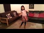 Nicole Roman Orrego dancing womanizer
