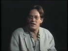 Raul Julia speaks about the courses of Werner Erhard