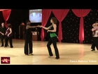 Erica Smith & Rachel Dotter ~ Gold ~ West Coast Swing Novice Pro-Am ~ DCSX 2012
