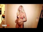 Kate Upton Cat Daddy dance to Money Maker by Ludacris