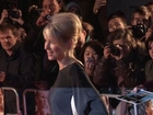 Naomi Watts In Backless Fashion Joins Ewan McGregor At Premiere
