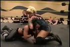 Christina Von Eerie Wrestling Wedgie